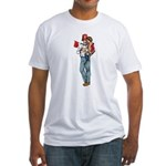 Shriner and Child Fitted T-Shirt