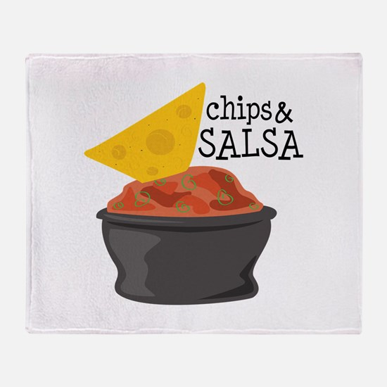 Chips & Salsa Throw Blanket