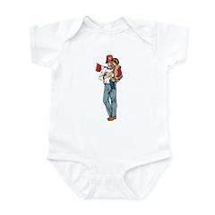 Shriner and Child Infant Bodysuit