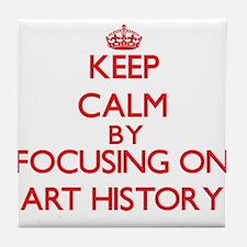 Art History Tile Coaster