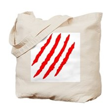 Claw Marks Tote Bag