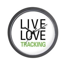 Live Love Tracking Wall Clock