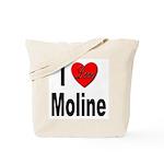 I Love Moline Tote Bag