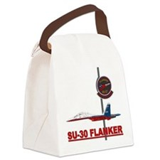 SU-30_FLANKER.png Canvas Lunch Bag