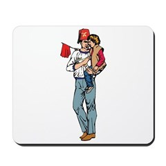 Shriner and Child Mousepad