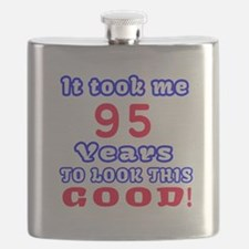 It Took Me 95 Years To Look This Good ! Flask