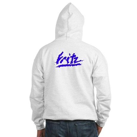 Hooded Sweatshirt with logo and Web Site