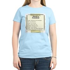 """Nick's Faves!"" Duranie T-Shirt"