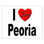 I Love Peoria Small Poster