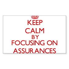 Assurances Decal