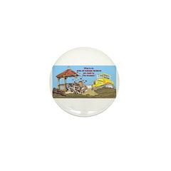 Bulldoze the Smoking Gazebo Mini Button (10 pack)