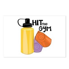 Hit The Gym Postcards (Package of 8)