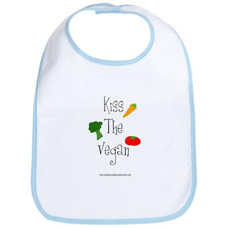 Kiss the Vegan Bib