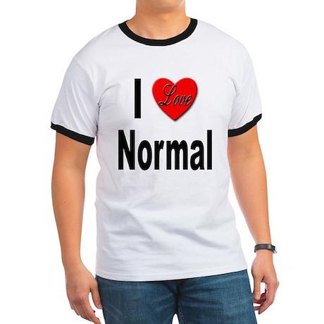 I Love Normal (Front) Ringer T