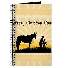 Custom Praying Cowboy Journal