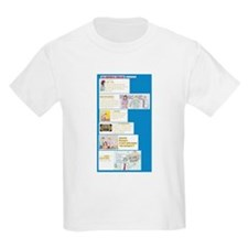 The Characters Kids T-Shirt