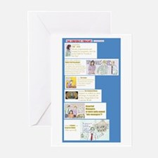 The Characters Greeting Cards (Pk of 10)
