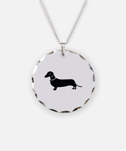 Weiner Dog Necklace