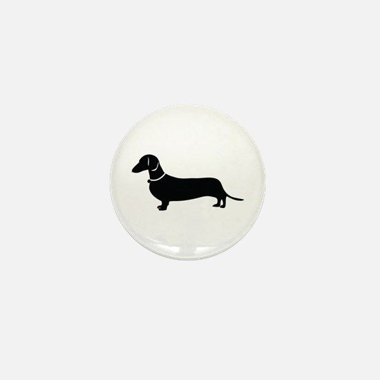 Weiner Dog Mini Button