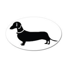 Weiner Dog Wall Decal