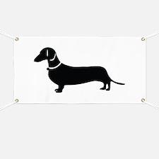 Weiner Dog Banner