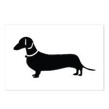 Weiner Dog Postcards (Package of 8)