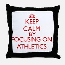 Athletics Throw Pillow