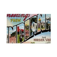 Cute Indiana Rectangle Magnet (10 pack)