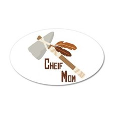 Chief Mom Wall Decal