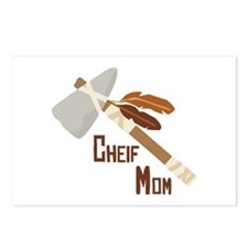 Chief Mom Postcards (Package of 8)