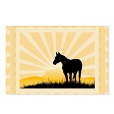 Western Horse Postcards (Package of 8)