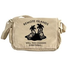 Well, This Changes Everything... Messenger Bag