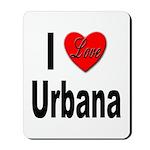 I Love Urbana Mousepad