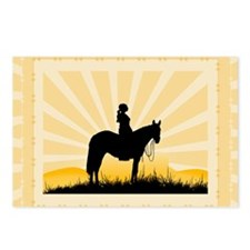 Western Cowgirl Postcards (Package of 8)