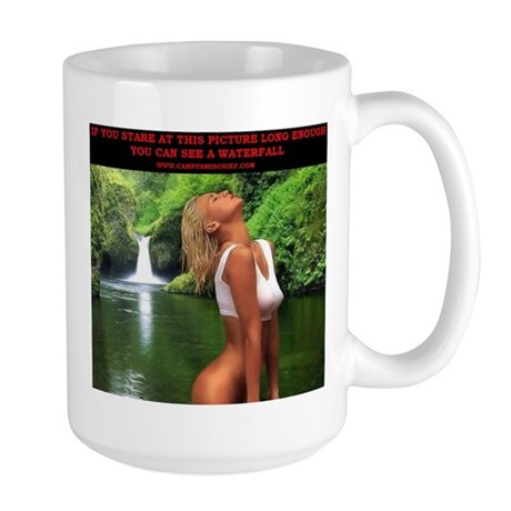 Waterfall - Large Mug - Campus Mischief