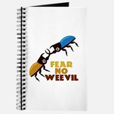 Fear No Weevil Journal