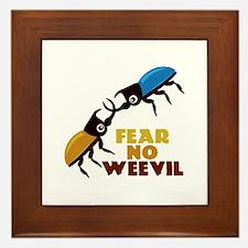 Fear No Weevil Framed Tile