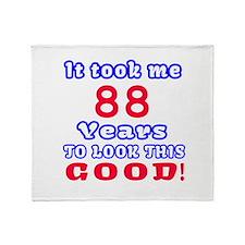 It Took Me 88 Years To Look This Goo Throw Blanket
