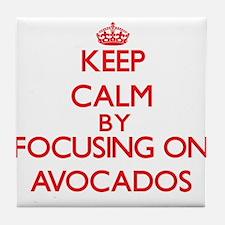 Avocados Tile Coaster