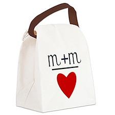 Scorpio + Scorpio = Love Canvas Lunch Bag