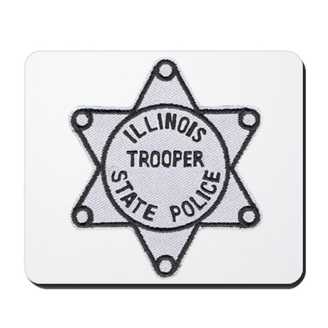 Illinois State Police Mousepad