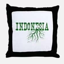 Indonesia Roots Throw Pillow