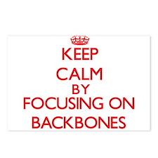 Backbones Postcards (Package of 8)