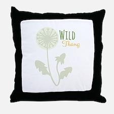 Wild Thang Throw Pillow