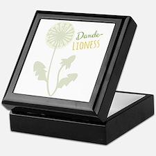 Dande-lioness Keepsake Box