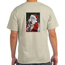 Santa and Me Cairn Ash Grey T-Shirt