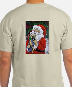 Santa and Me Cairn Ash Grey T-Shirt