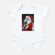 Santa and Me Cairn Infant Creeper