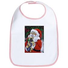 Santa and Me Cairn Bib