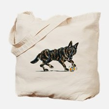 German Shepherd Dax Tote Bag